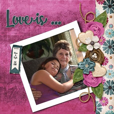 Love is teyla and Oma