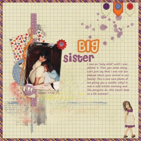 Big Sister Cuddle
