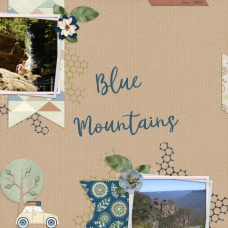 Blue Mountains (Summer Vacation)