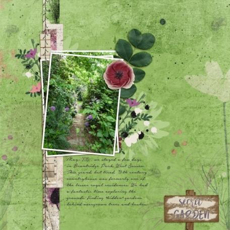 Secret garden (In my Garden)