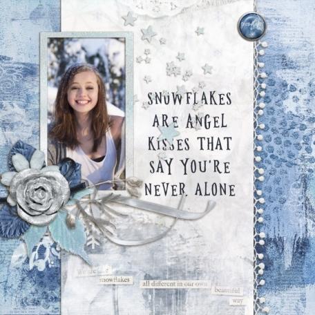 Enchanting Winter - snowflakes