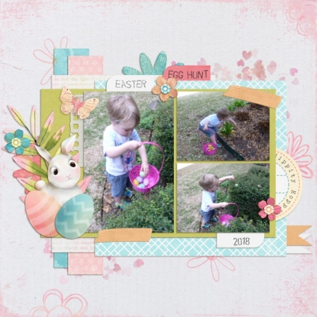 2019-15 - Challenge invités  - Page 3 Catch-them-all-layout-easter-spring-bunny-eggs-green-blue-pink-white