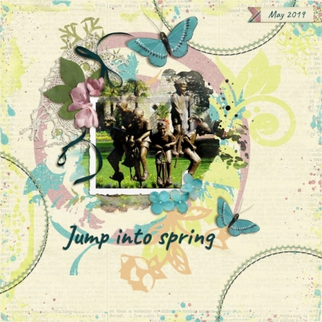 Jump into Spring (A perfect day)
