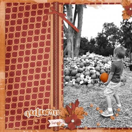 Autumn (Falling Leaves)