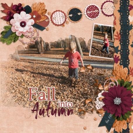 Fall Into Autumn (Falling Leaves)