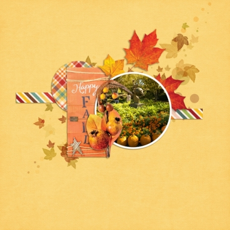 Happy Fall (Glorious Days of Autumn)