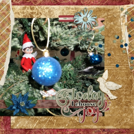 Today I choose Joy (Spirit of Christmas)