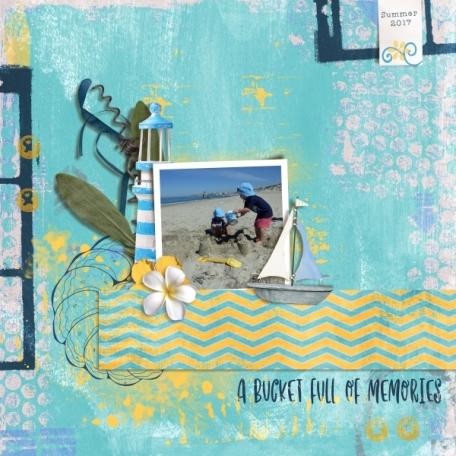 A bucket full of memories (Sea & Sky)
