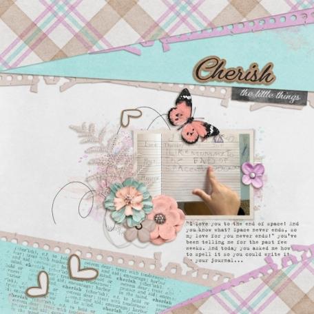 Cherish the little things (Cherish)