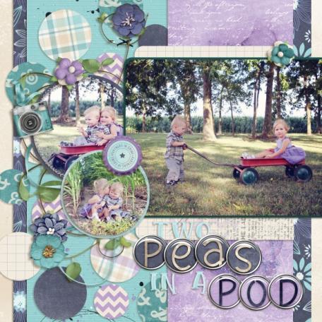 Two peas in a pod (Hello Friend)