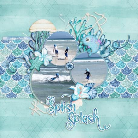 Splish splash (Let's be mermaids)