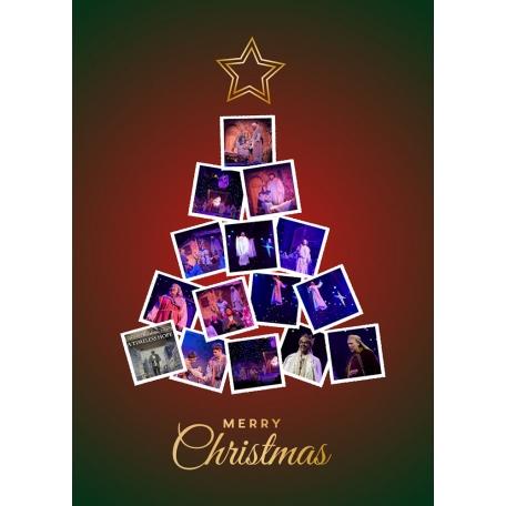 Christmas Tree Collage Glorious Christmas Nights