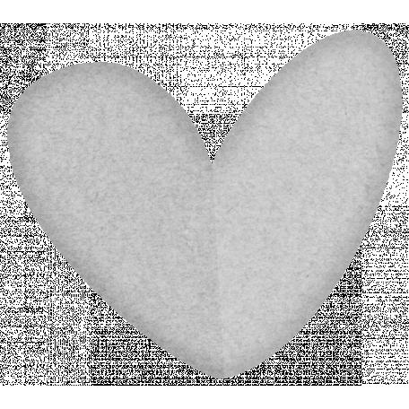 Paper Heart Template #04
