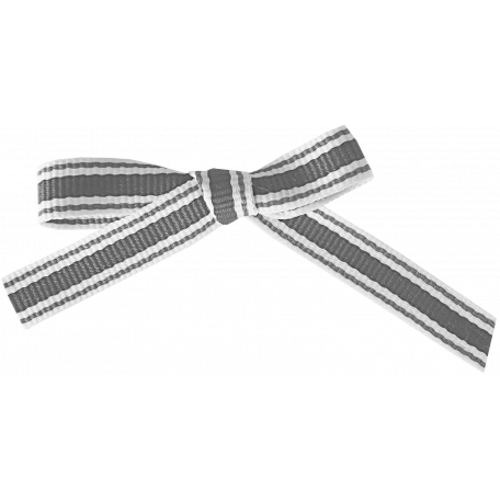 Stripped Ribbon Bow Template