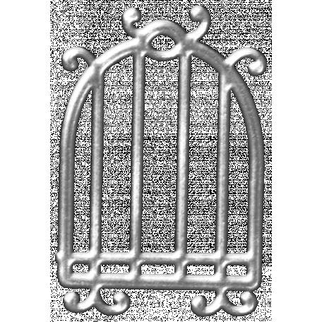 Metal Birdcage Template