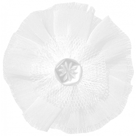 Tulle Flower Template 02