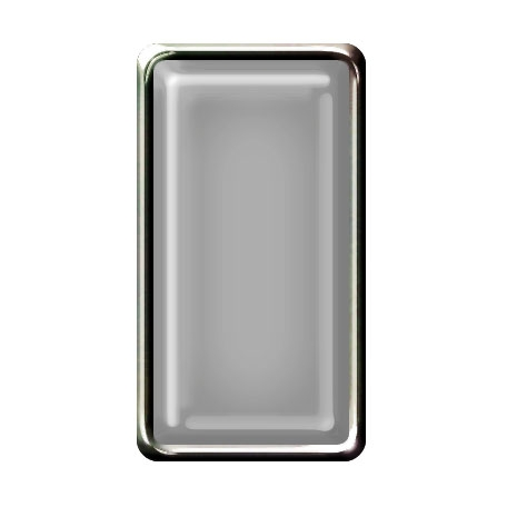 Brad Set #2 - Rectangle - Chrome