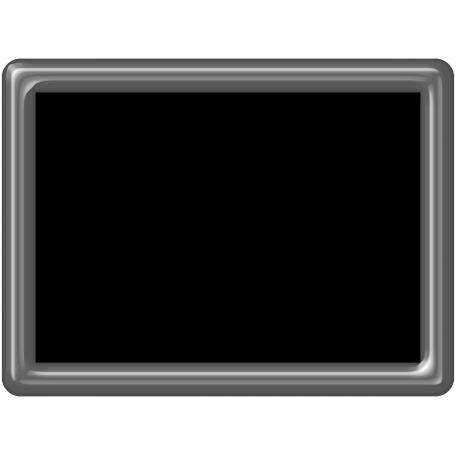 Plastic Frame 4x3