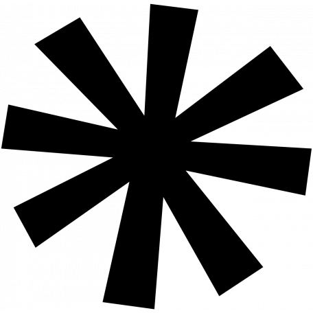 Asterisk Shape Mat