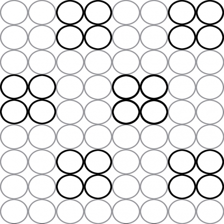 Circles 21 - Paper Template - Large
