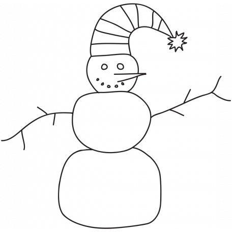 Brush 026 - Christmas 5 Snowman