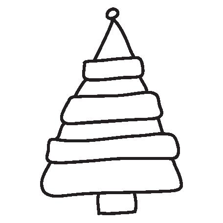 Brush 026 - Christmas 14 Tree