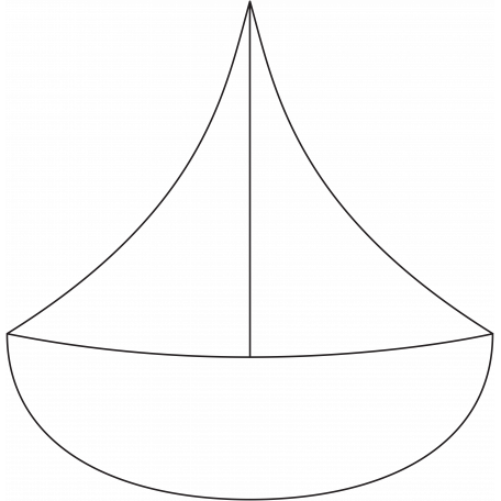 Ocean - Sailboat Illustration