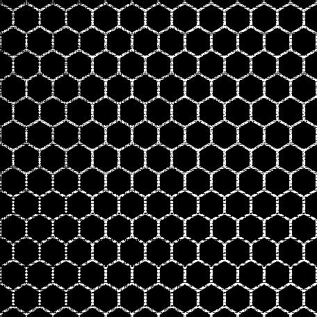 Geometric 13 Medium Overlay - Hexagons