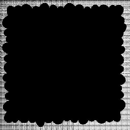 Square Mat 06 - Uneven Ovals