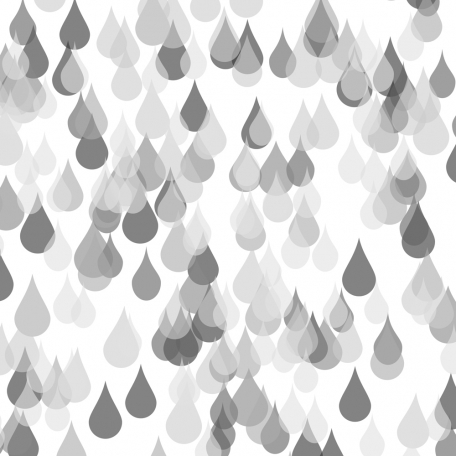 Blended Raindrops Paper Template