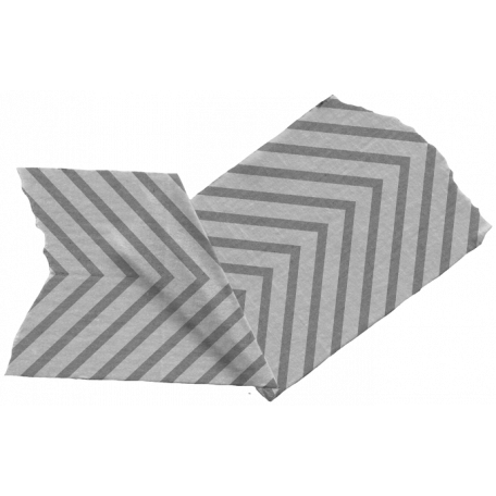 Folded Chevron Tape Template