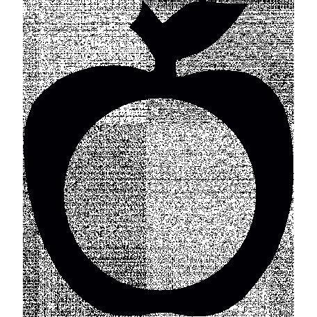 Apple Frame Shape Mask