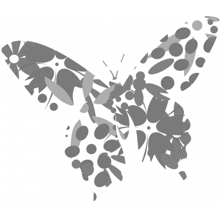 Butterfly Stamp Template 001