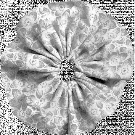 Fabric Flower Template 008