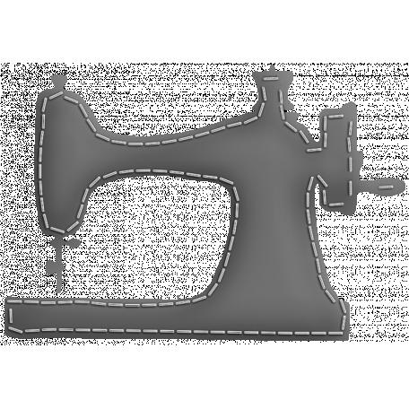 Layered Puffy Sewing Machine Template