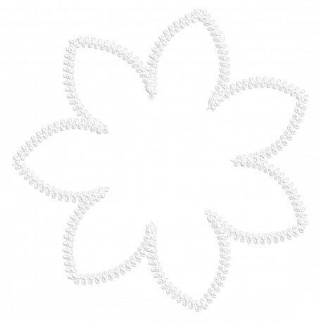 Flower Stitching Template 003