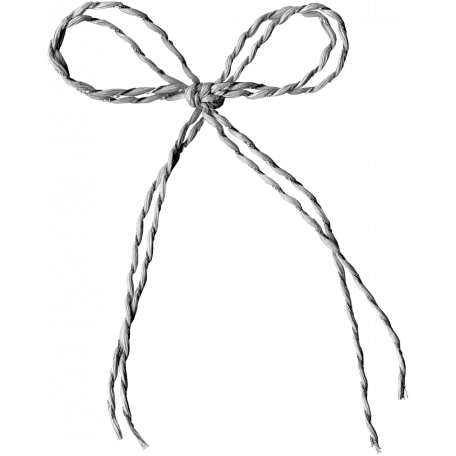 Baker's Twine Bow Template 003
