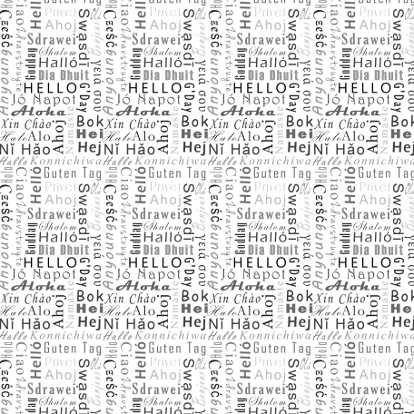 Hello Layered Word Paper Template