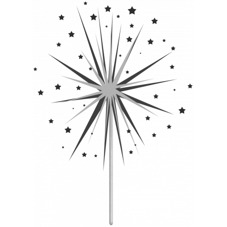 Layered Sparkler Template 01