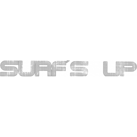 Surfs Up Word Art