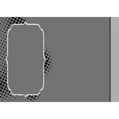 Journal Card Halftone Frame