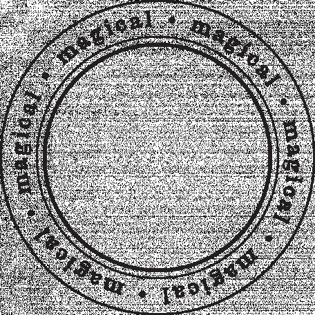 Enchanted - Magical Circle Stamp
