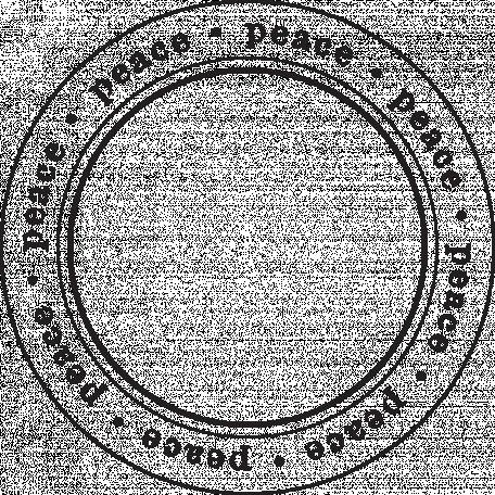 Enchanted - Peace Circle Stamp