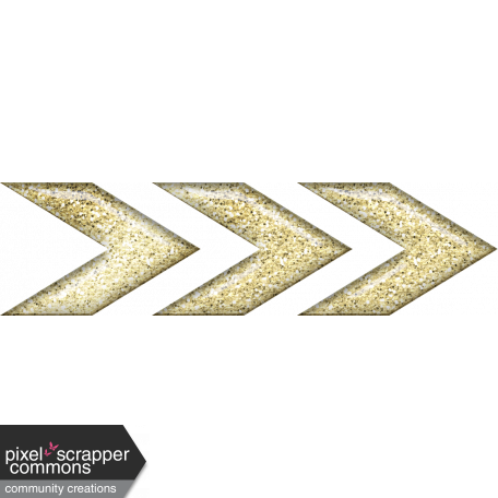 Adelaide Gold Glitter Arrows graphic by Rachel Martin ...