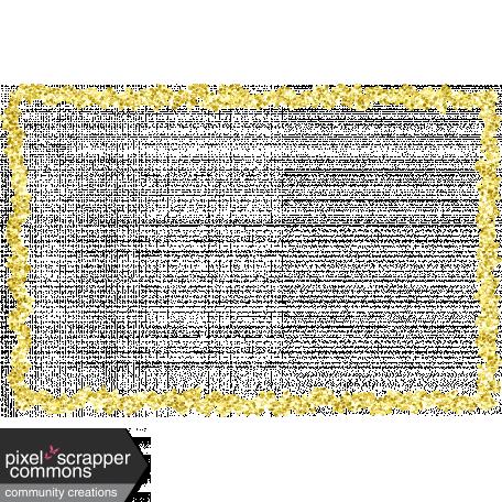 Raindrops & Rainbows Kit:: Gold Glitter Frame graphic by Rachel ...