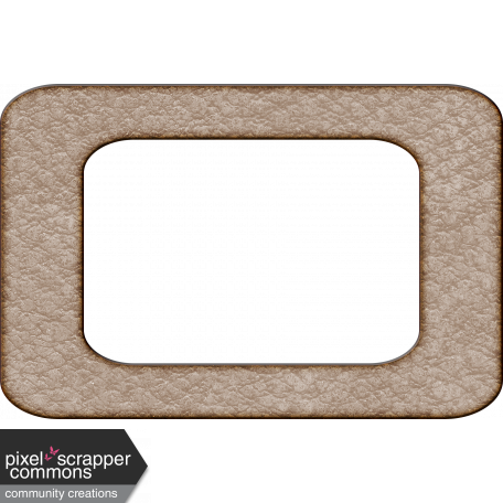 ::Winter Fun Kit:: Leather Frame