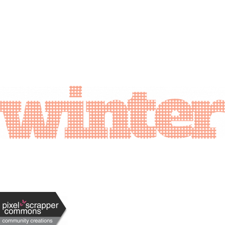 ::Winter in the Tropics Kit:: Mesh Winter