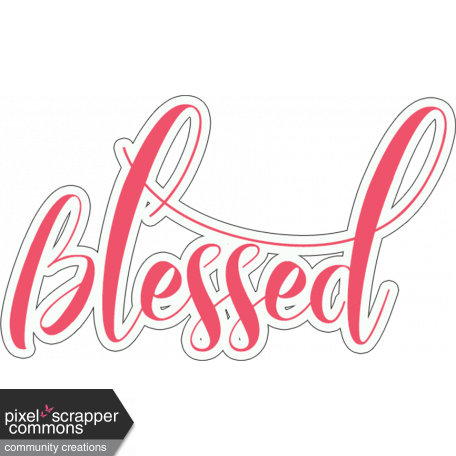 Blessed Word Art