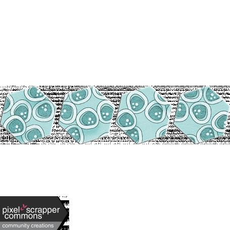 Turquoise Hexagons
