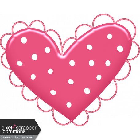 Love Story Heart 3 Scallop